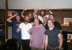 Mastodon and crew