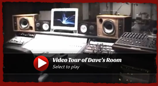Video tour of Dave's Room